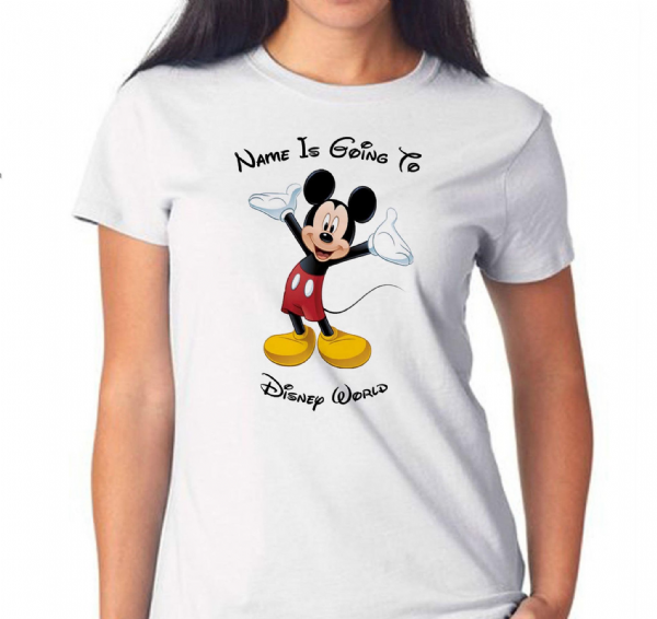 Micky Mouse Womens T-shirt